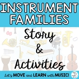 """Instrument Families: """"The Instruments Learn to How to Share"""" VIDEO & Activities"""