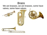 Instrument Families and Songs