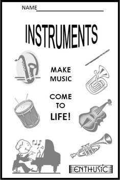 Introducing the Instrument Families (2nd/3rd Gr.) Reproducible Handout