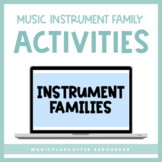 Instrument Families for Google Slides™ | Distance Learning