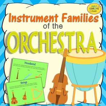Instrument Families of the Orchestra (FREEBIE!)