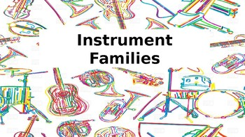 Instrument Families power point GAME