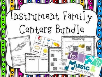Instrument Family Centers Bundle
