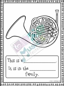 Instrument Family Centers Bundle SAMPLER