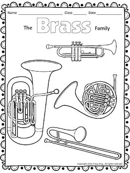 percussion instruments coloring pages - photo#23