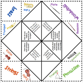 Instrument Family Cootie Catcher