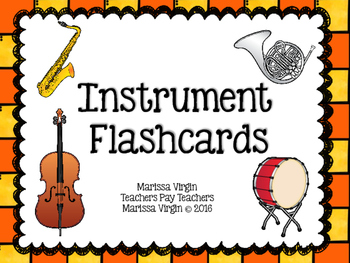 Instrument Family Flashcards