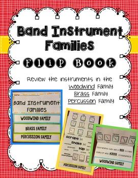 Instrument Family Flip Book