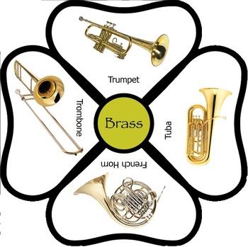 Instrument Family Flower Set