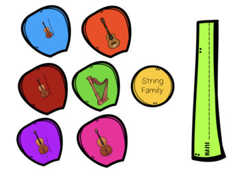 Instrument Family Flowers