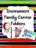 Instrument Family Center Folders