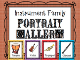 Instrument Family Portrait Gallery - Bulletin Board - Posters