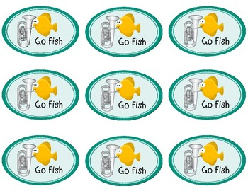 """Instrument Family """"Go Fish"""" -- orchestra instrument identification game"""