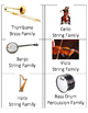 Instrument Family Headbands Game