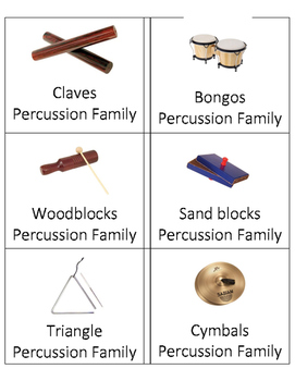 Instrument Family Headbands Game