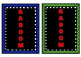 Instrument Family KABOOM!
