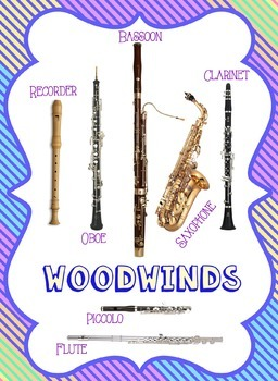 Instrument Family Posters by Jennifer Weyman | Teachers ...
