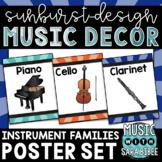 Instrument Family Posters {Starburst Design}