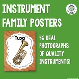 Real Photograph Instrument Family Posters