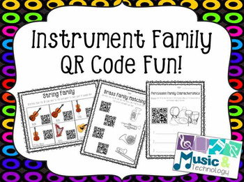 Instrument Family QR Code Fun!
