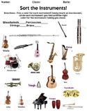 Instrument Family Sort