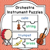 Instrument Family Sorting Puzzles for Musical Instruments of the Orchestra Game