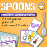 Instrument Family Spoons Game - Music Centers & Sub Activities
