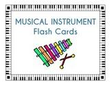 Instrument Flash Cards