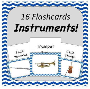 Instrument Flashcards
