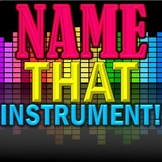 """Name That Instrument!"" SB Orchestra Game - Elementary Music - Use for Sub Plan!"