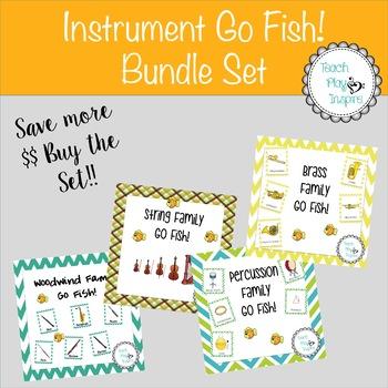Music Go Fish - Instrument Go Fish - Bundle Set