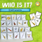 Instrument Who Is It?- Music Center, Sub Activity, Listening Activity