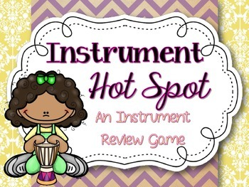 Instrument Hot Spot: A Review Game