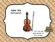 Instrument Identification Interactive Detective Game - Orchestral Instruments