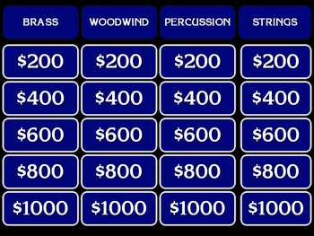 Instrument Jeopardy!