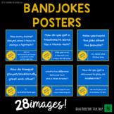 "Music Bulletin Board ""Instrument Jokes"" Posters Decor"