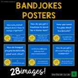 Instrument Jokes - Band Hall Bulletin Board Set and Room Décor