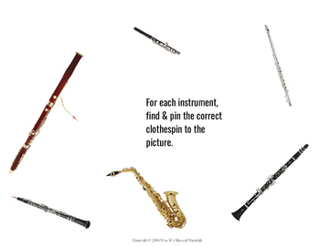 Instrument Labeling (Clothespins Required!)