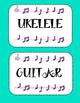 Instrument Labels