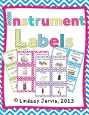 Instrument Labels {Chevron}
