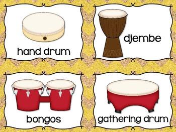 Instrument Labels {Cork Board}