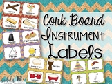 Instrument Labels {Cork Board}