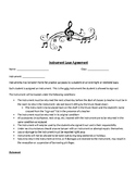 Instrument Loan Agreement