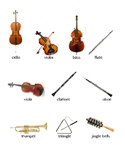 Instrument Match Icons and Labels