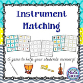 Instrument Family Matching Game