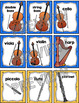 Instrument Memory Card Game: Orchestra Instruments