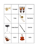 Instrument Memory Game