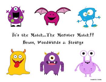 Instrument Monster Match