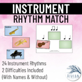 Instrument Name Rhythm Match (Perfect for Centers)