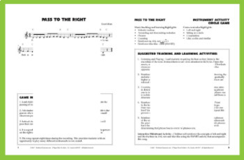 """Instrument Passing Circle Game 